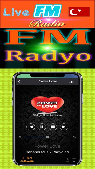 Screenshot for FM Radyo in United States App Store