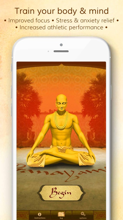 Health through Breath - Pranayama Lite screenshot-0