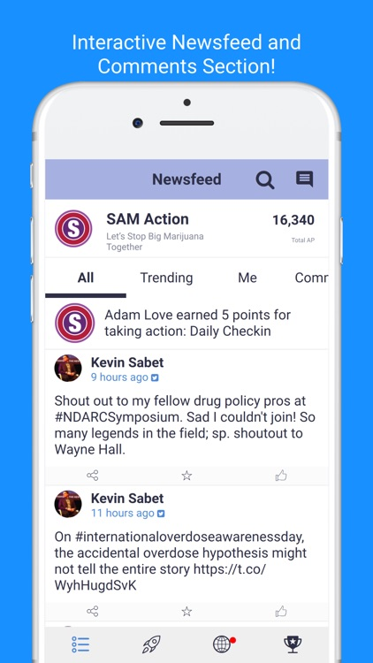SAM Action screenshot-1