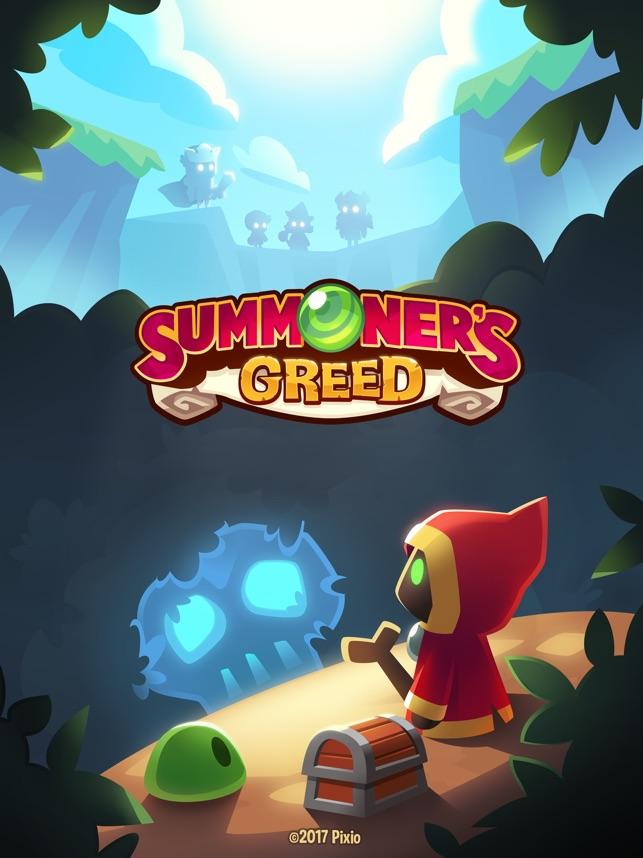 Summoner's Greed: Idle RPG TD Screenshot