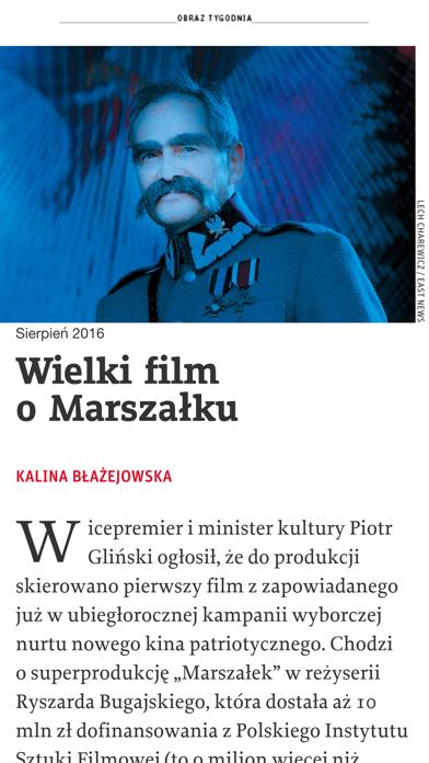 Tygodnik Powszechny review screenshots