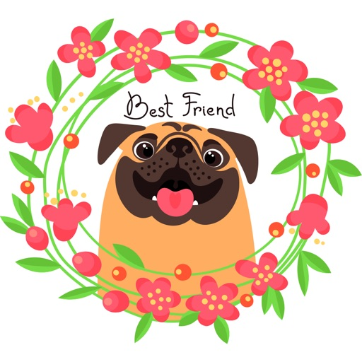 Lovely Dog Stickers Pack