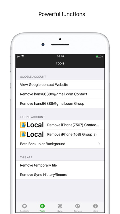 Sync Contacts for Google Gmail screenshot-8