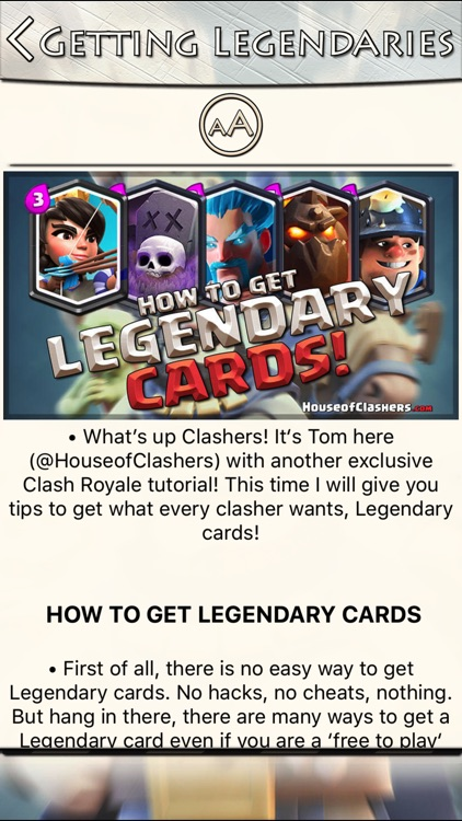 Guide for Clash Royale: Decks, Tips, Cards, Chests screenshot-4