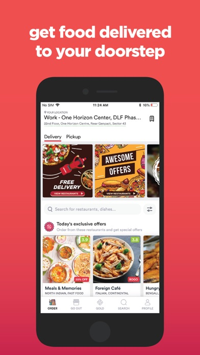 Zomato - Food & Restaurants Preview 0