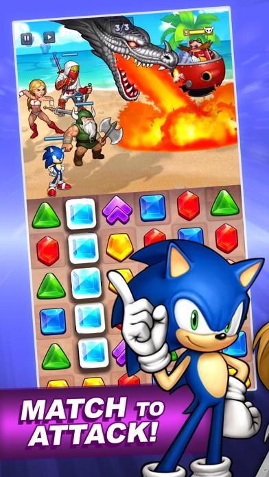 SEGA Heroes: Match 3 RPG Game screenshot 2