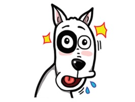 Goofy The Funny Dog Stickers