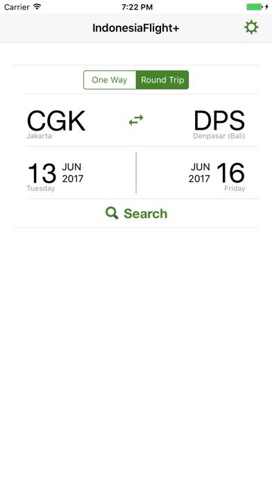 Indonesia Flight Lite iPhone