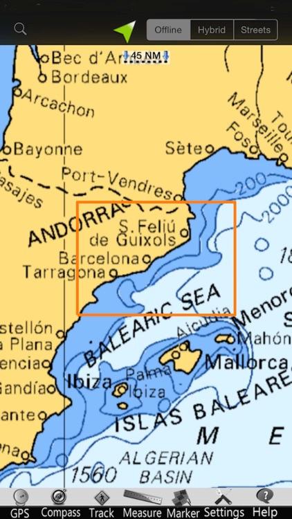 Catalonia GPS Nautical Charts screenshot-4