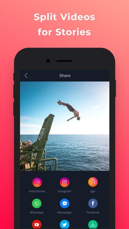 Filmr- vertical video editor screenshot-8