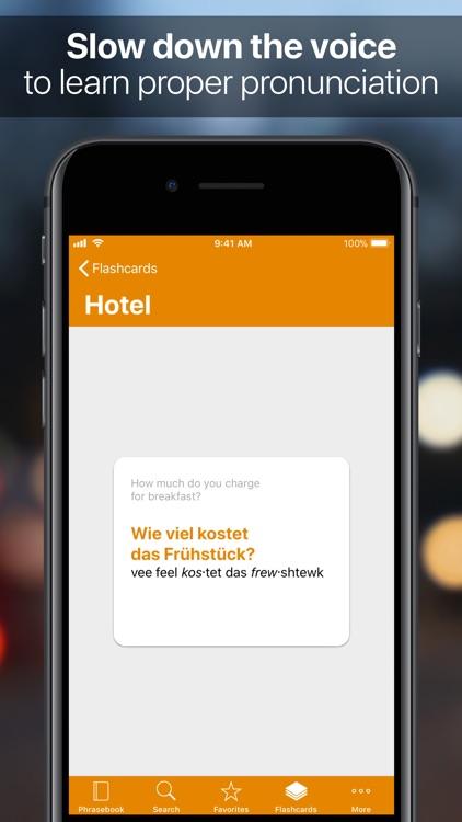 SpeakEasy German screenshot-3