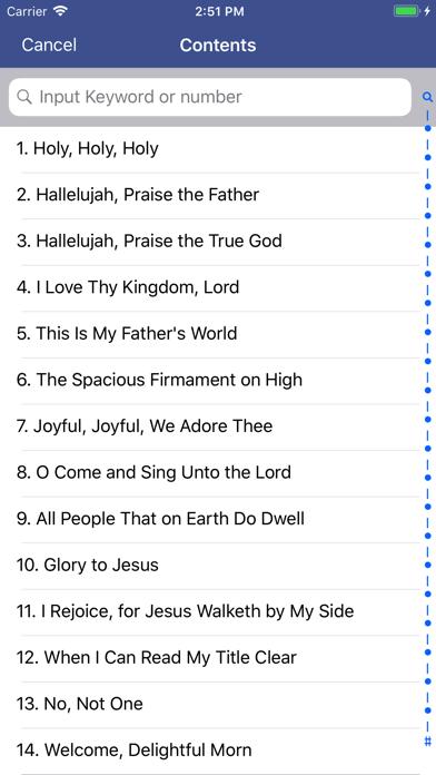 点击获取Hymns Of Praise