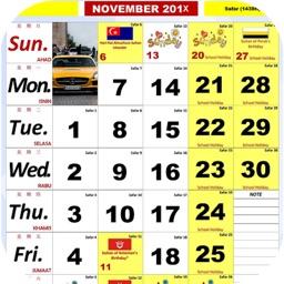 Kalendar Malaysia Kuda Hijrah
