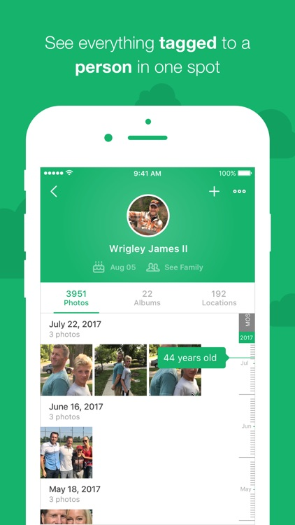 MemoryWeb – photo metadata app