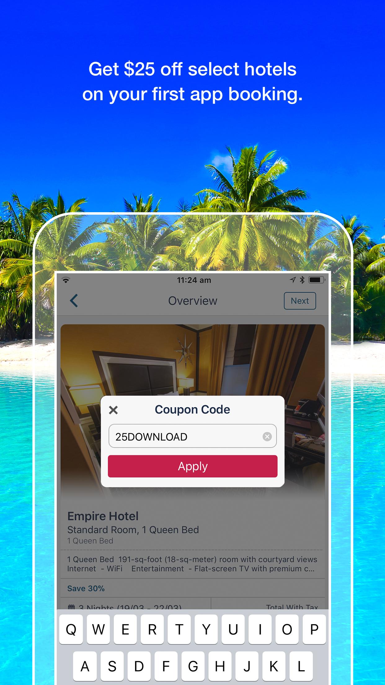 Orbitz Flight, Hotel, Packages Screenshot