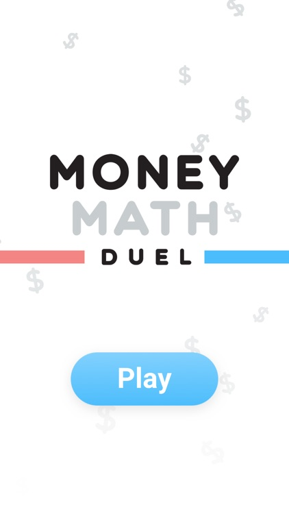 Money Math Duel - Split Screen
