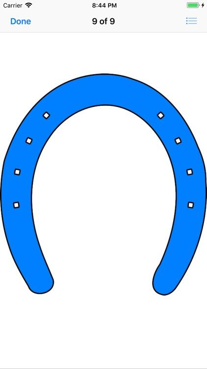 Horseshoe Sticker Pack screenshot-9