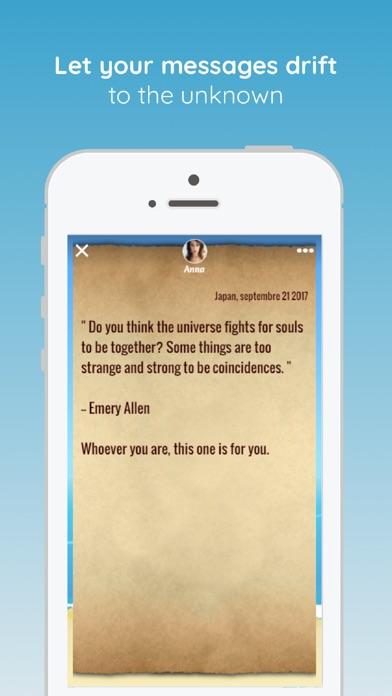 Bottled · Message in a Bottle screenshot 3