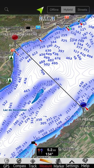 点击获取Lake Neuchatel Morat Biel Gps