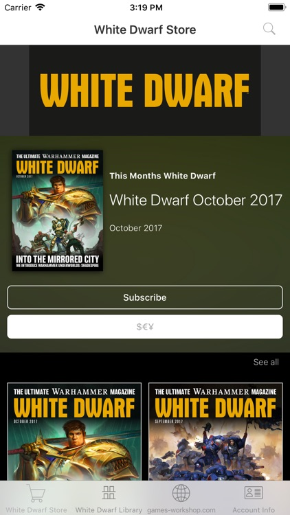 White Dwarf Magazine screenshot-0