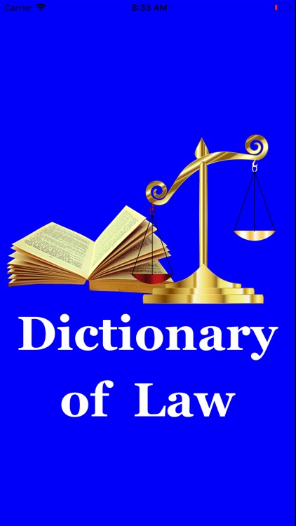 Legal / Law Dictionary Pro