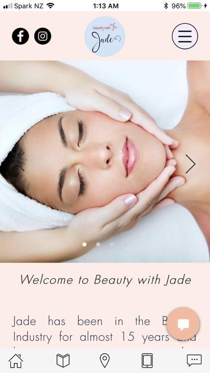 Beauty with Jade by Reuben Mackey