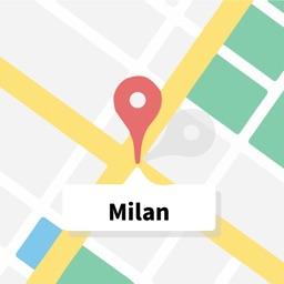 Milan Offline Map Milan离线地图