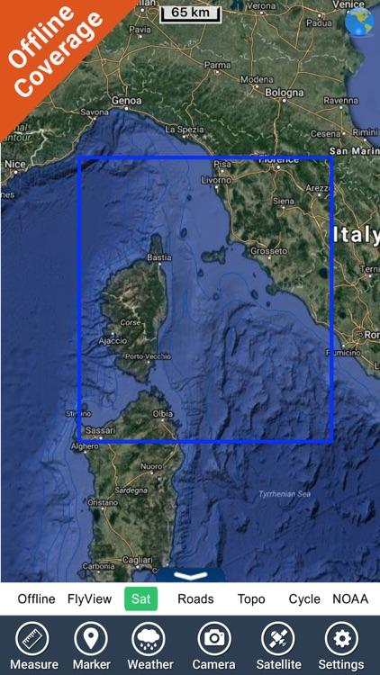 Arcipelago Toscano HD charts screenshot-4