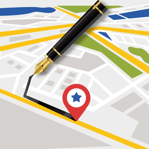 Draw on Map - Create Your Own Map And add Waypoint