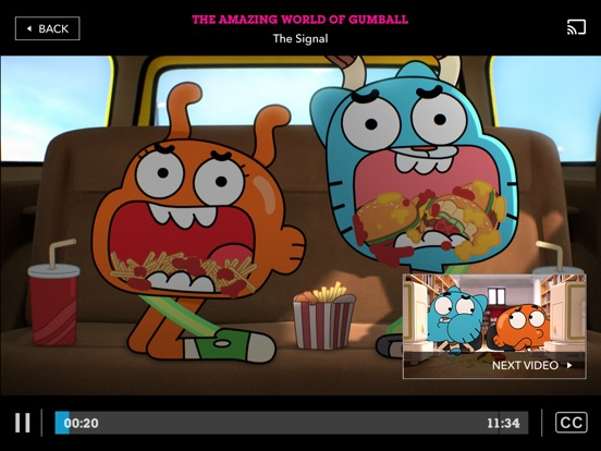 Cartoon Network tablet App screenshot 5