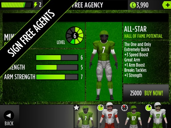 GameTime Football with Mike Vick-ipad-3