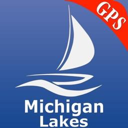 Michigan Lakes Nautical Charts