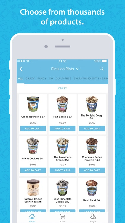 goPuff: Delivery of Snacks, Essentials & Ice Cream screenshot-2