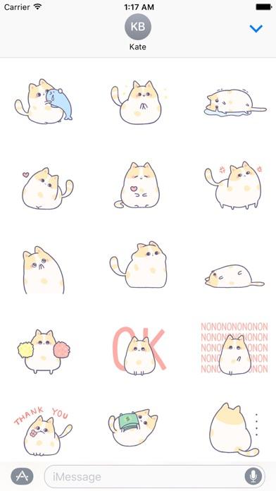 Animated Kitty CatMoji Sticker