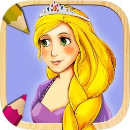 Rapunzel – Color princesses