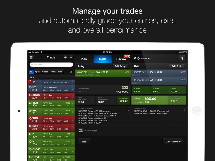 Trading Diary Lite