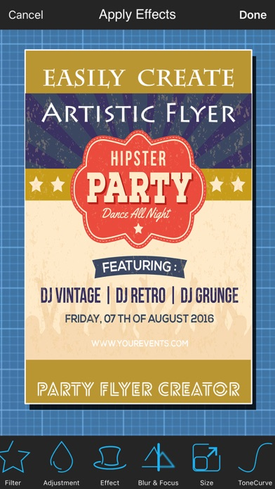 Party Flyer Creator | App Price Drops