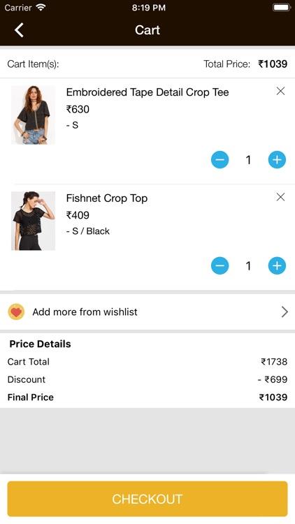 Paparazzi Closet E-Shopping screenshot-5