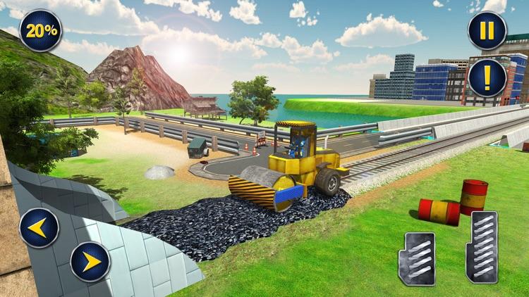 Railroad Tunnel Construction screenshot-3