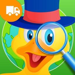 Where's Duck Around The World