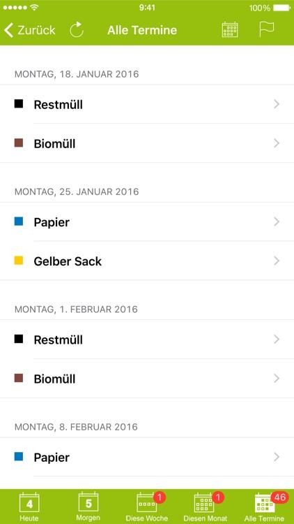 Abfall-App Abfall+