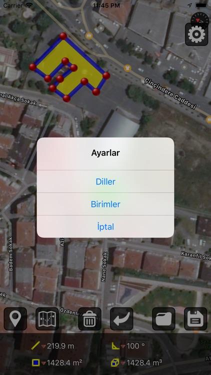 GPS Alan Ölçümü screenshot-3