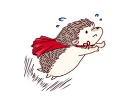 Cute Small Hedgehog Sticker
