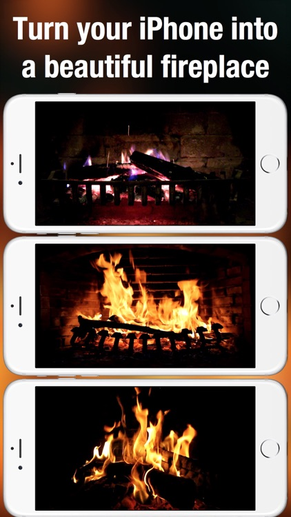 Fireplace Live HD: Relaxing backgrounds & sounds