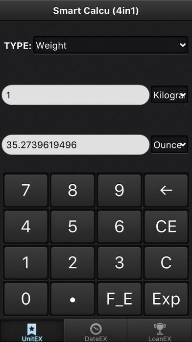 Smart Calcu - with Statistic Screenshots