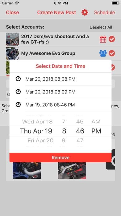 Smart Post: Schedule Media