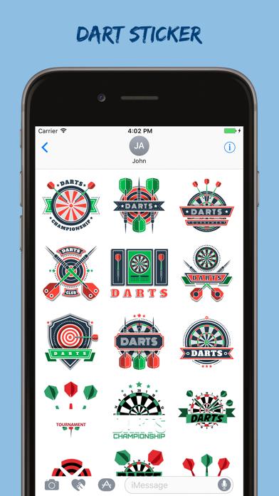 Dart Stickers Pack screenshot one