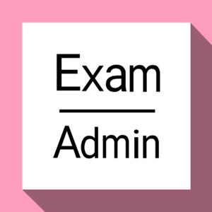 Exam Admin - Education app