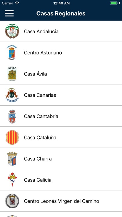 Casas Regionales screenshot-0