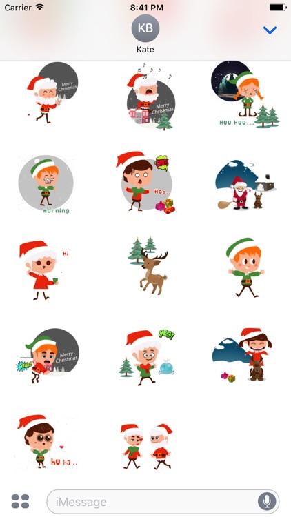 xmas funny animated